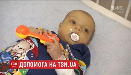 П'ятимісячному Миколці з Вінниці терміново потрібна пересадка печінки