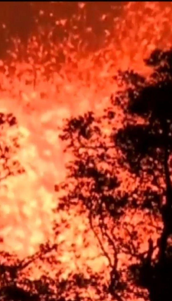 Лава з вулкану Кілауеа вже охопила площу 14 квадратних кілометрів