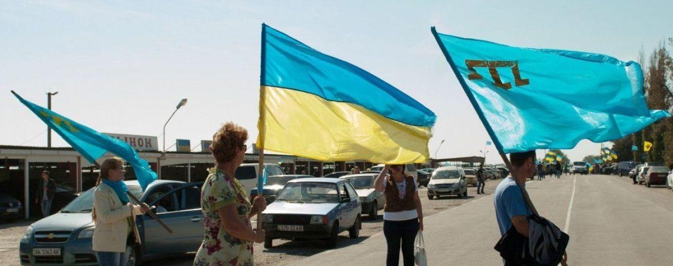 Из оккупированного Россией Крыма ежегодно выезжает до трех тысяч местных жителей