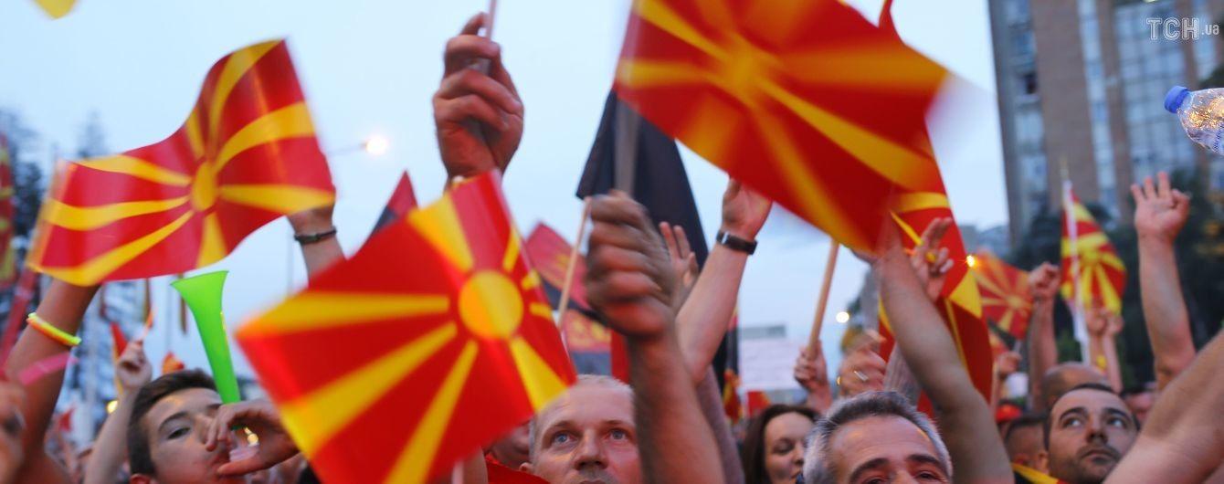 Президент Македонії відмовився підписувати домовленість із Грецією щодо перейменування країни