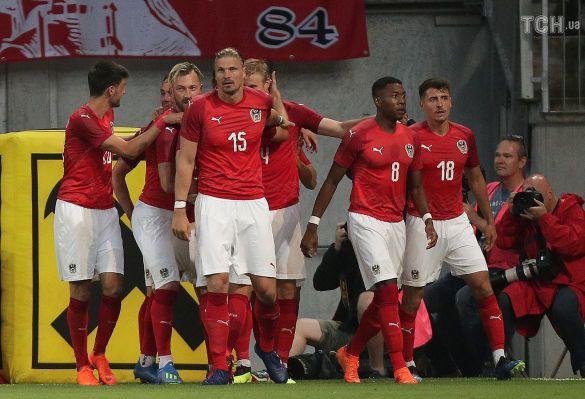 Футболісти збірної Австрії