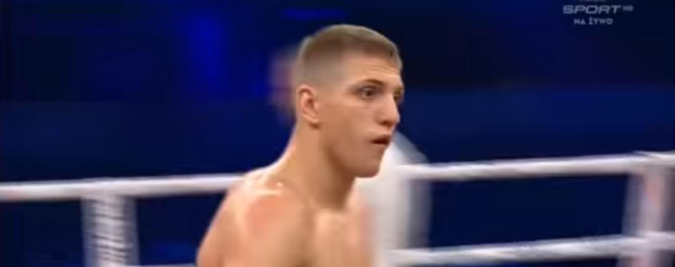 Непереможний український боксер відправив у нокаут супердосвідченого суперника