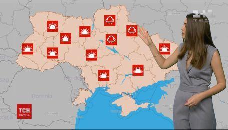 Украинцев предупредили о приближении жары и гроз