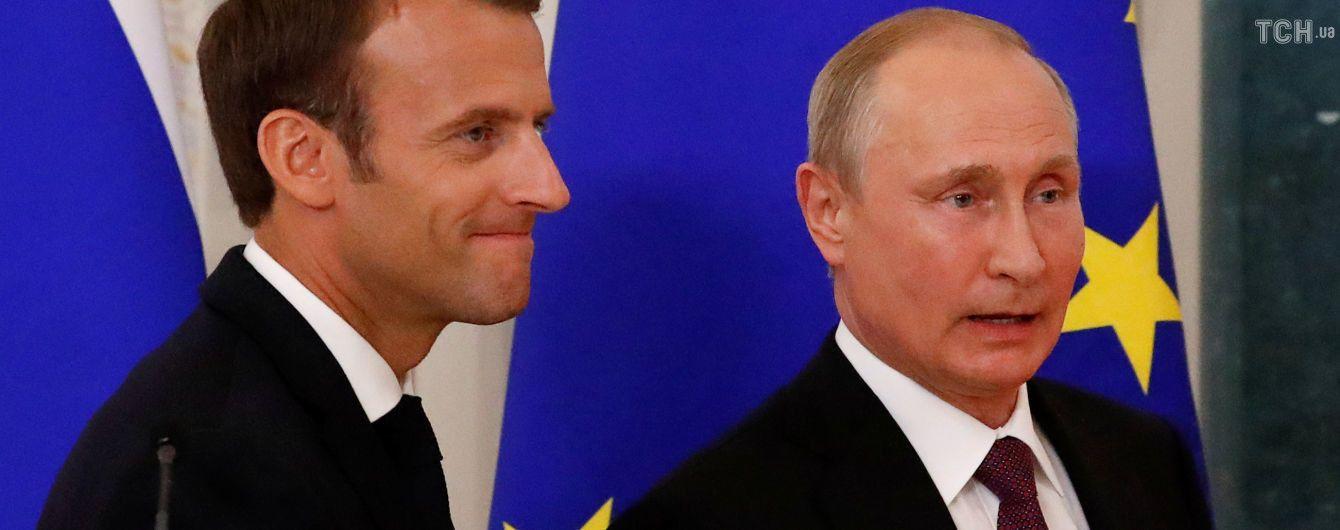 Немцы больше доверяют Макрону и Путину, чем Меркель и Трампу - опрос