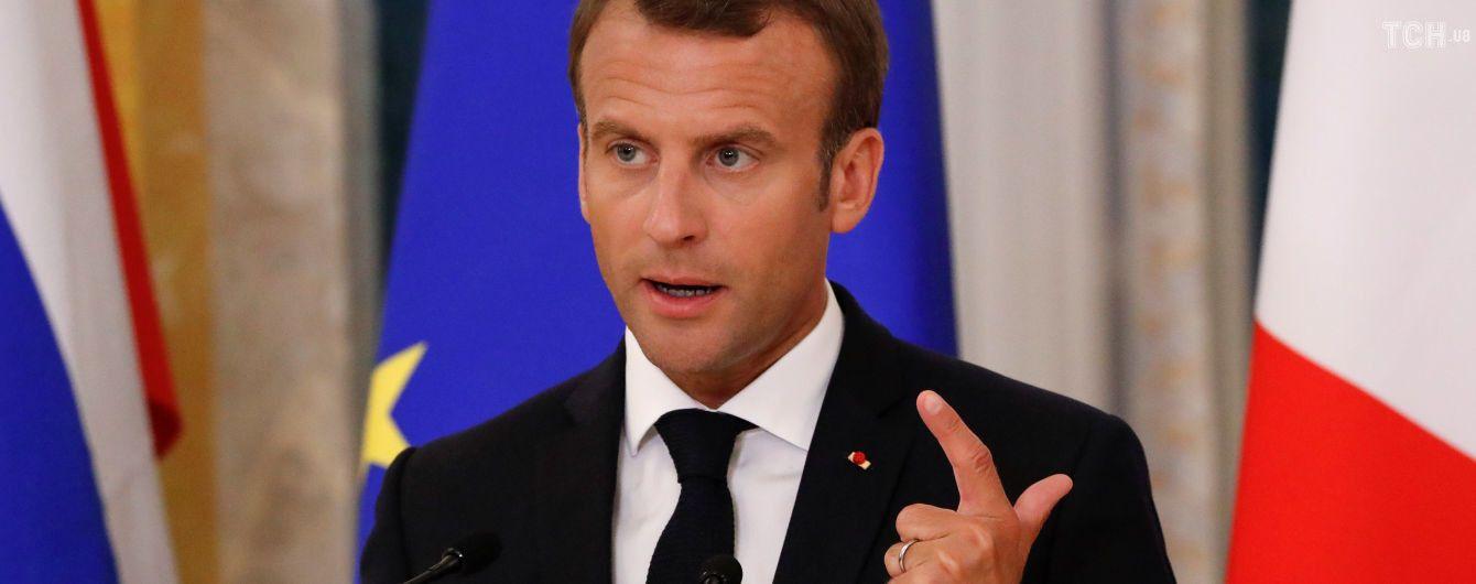 Президент Франції вирушить до Росії на Чемпіонат світу – ЗМІ
