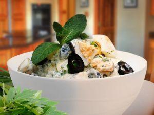Оригінальний яєчний салат