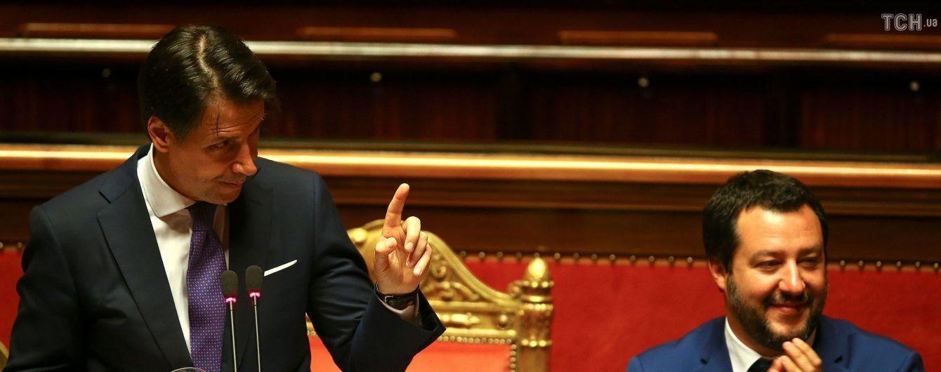 Новий прем'єр Італії виступив за перегляд санкцій проти Москви