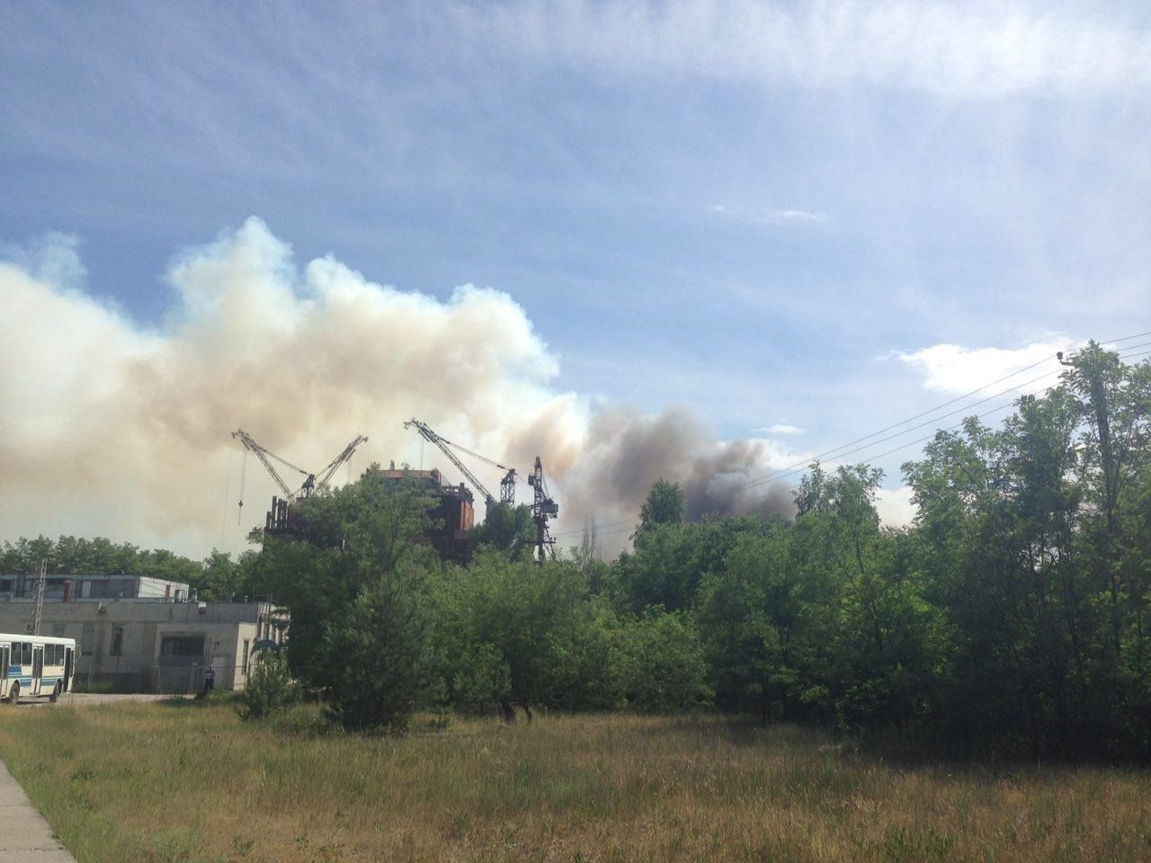 Пожежа у Чорнобилі_1