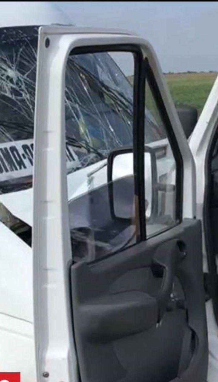 В Одесской области столкнулись маршрутка и грузовой микроавтобус