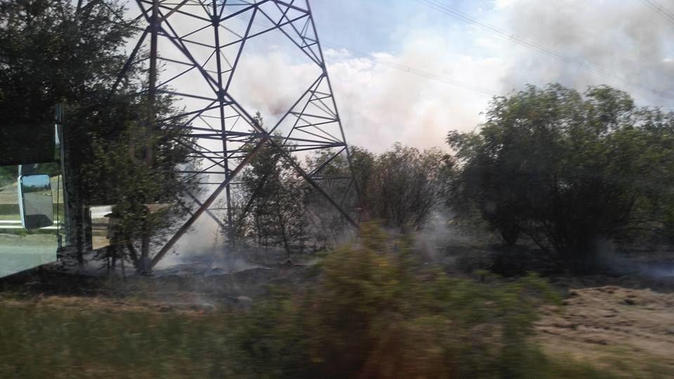 пожежа в Чорнобильскій зоні