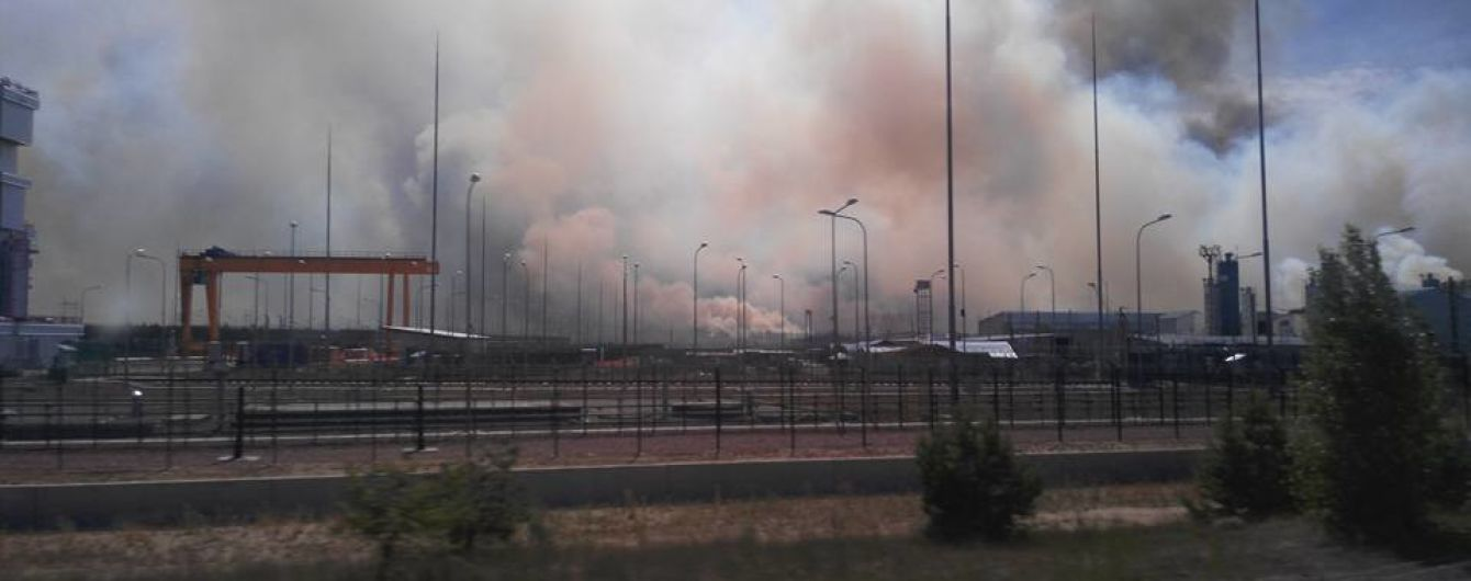 Синоптик попередила, що вітер несе дим з пожежі у Чорнобильській зоні на Київ