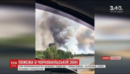 Стали відомі можливі причини пожежі у Чорнобилі