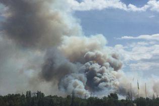 Спасатели потушили пожар в Чернобыльской зоне