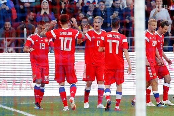 Футболісти збірної Росії