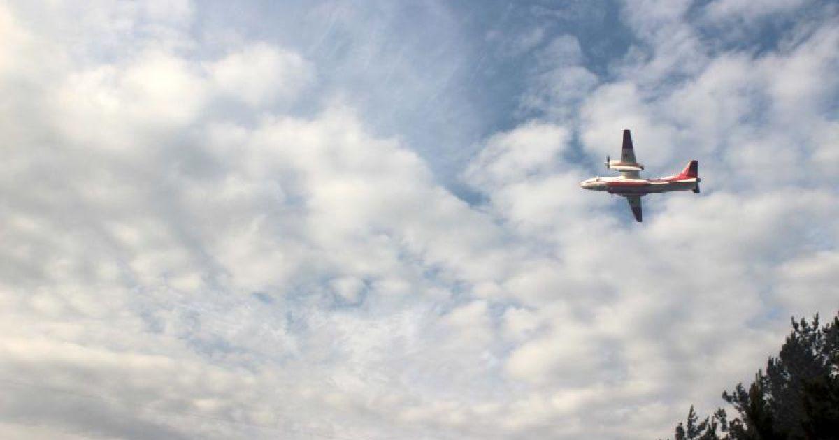 В небе над Невадой столкнулись два пожарных самолета
