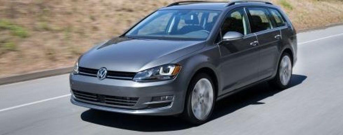 Українське відкликання Volkswagen Golf не стосується норм викидів