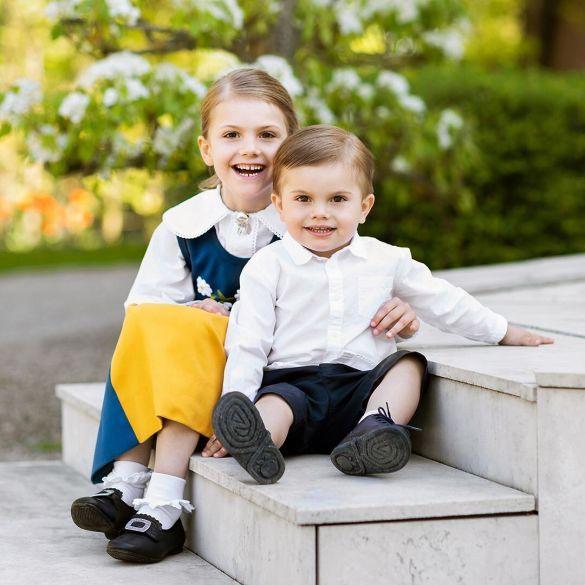 Принцесса Эстель и принц Оскар