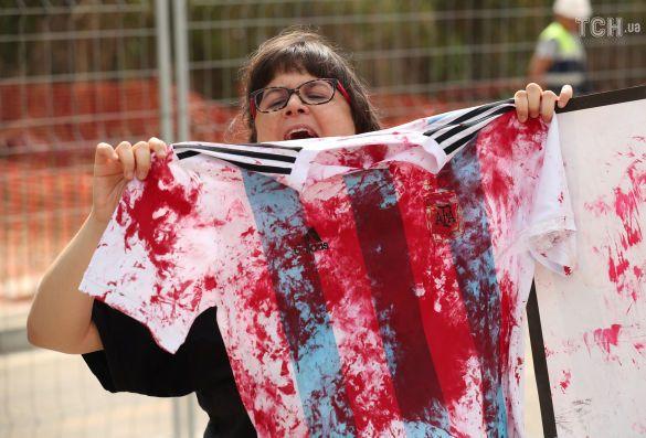Футболка збірної Аргентини