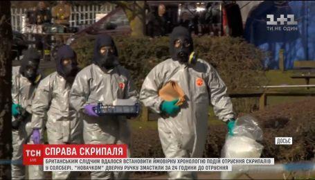 Отруєння Скрипалів: британським слідчим вдалося встановити ймовірну хронологію подій