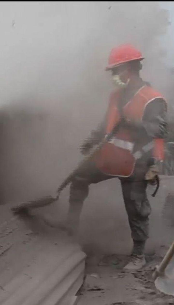 Извержение вулкана Фуэго: спасатели разыскивают сотни пропавших без вести людей