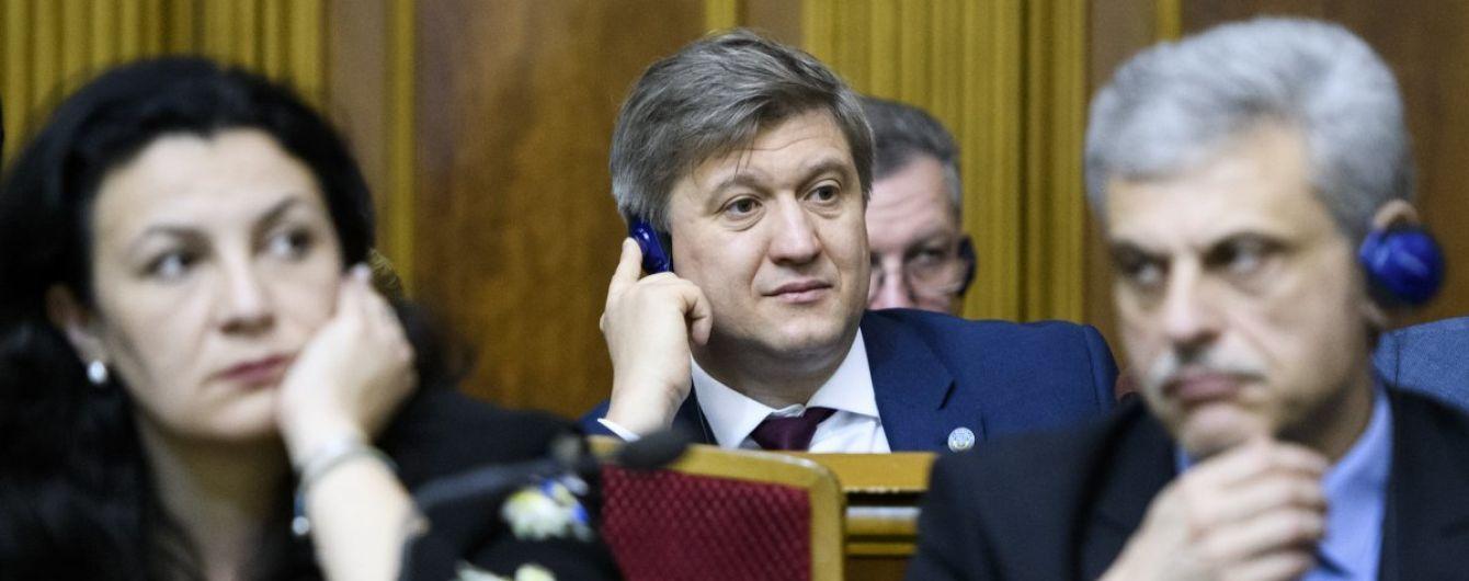 Перед отставкой Данилюк разговаривал с Порошенко