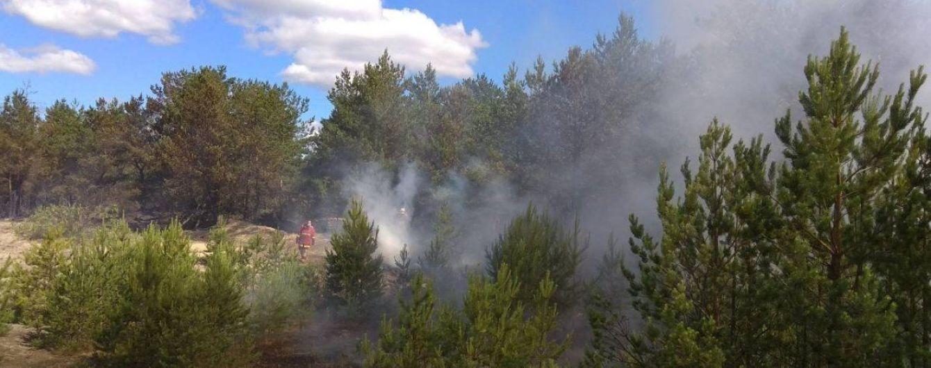 Спасатели локализовали пожар в Чернобыльской зоне