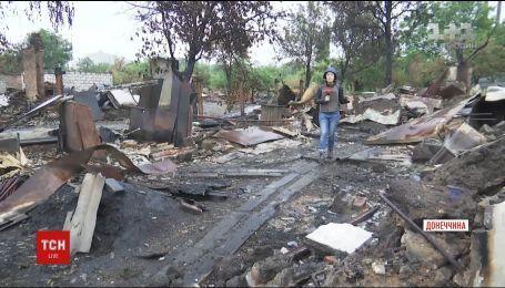 Боевики массированно обстреливают недавно освобожденный поселок Южное