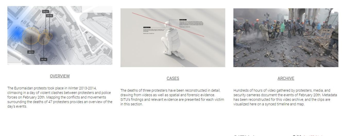 Специалисты реконструировали расстрел на Майдане. Определен вероятный сектор, из которого стреляли