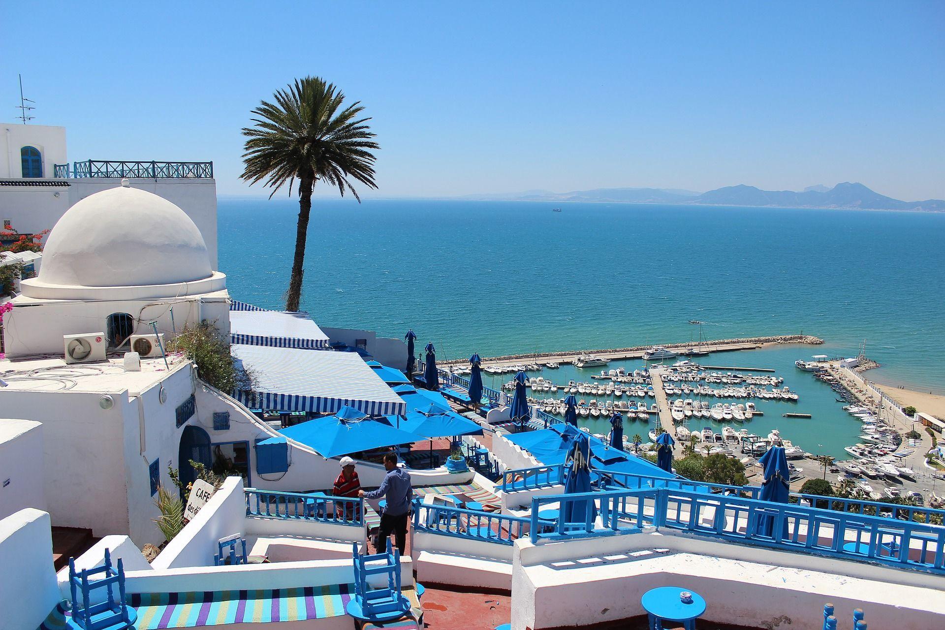 Туніс, море