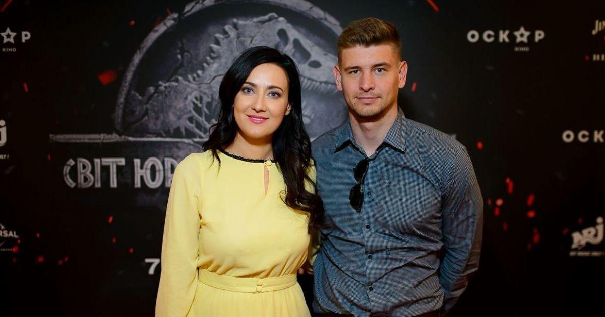 """Соломия Витвицкая с мужем @ Кинотеатр """"Оскар"""""""