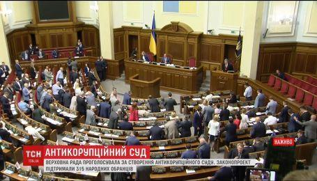 Верховна Рада ухвалила закон про Антикорупційний суд