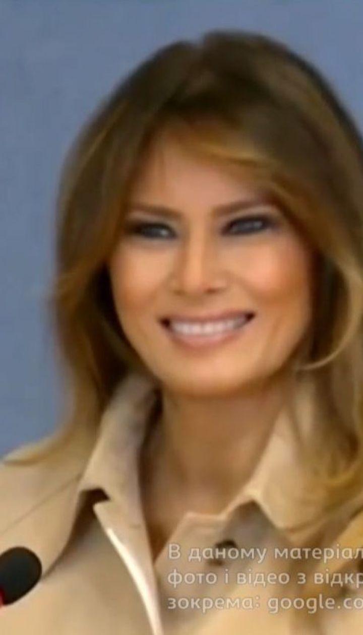 Мелания Трамп появилась на публике после операции
