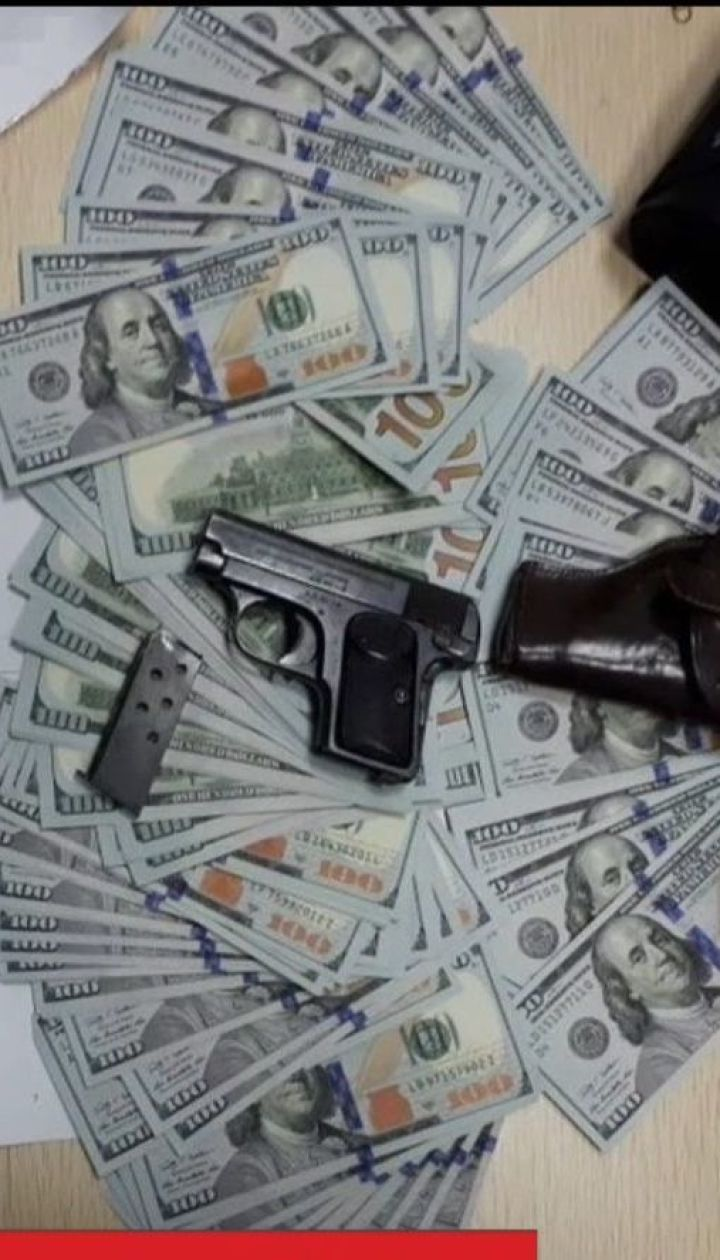 Спецслужби знайшли зброю та 200 тисяч доларів у Кирила Вишинського