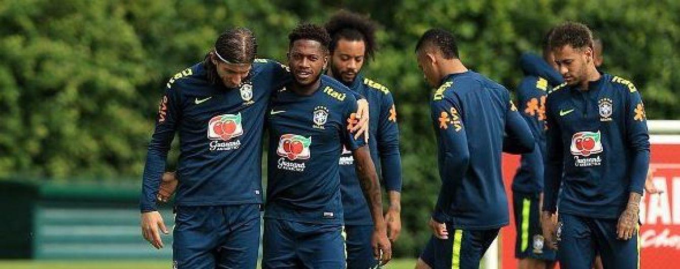 Фред получил травму на тренировке сборной Бразилии и может пропустить стартовые матчи ЧМ-2018