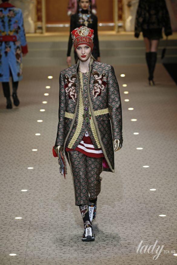 Коллекция Dolce&Gabbana прет-а-порте сезона осень-зима 2018-2019_20