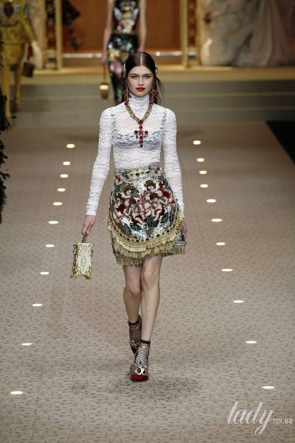 Коллекция Dolce&Gabbana прет-а-порте сезона осень-зима 2018-2019_77