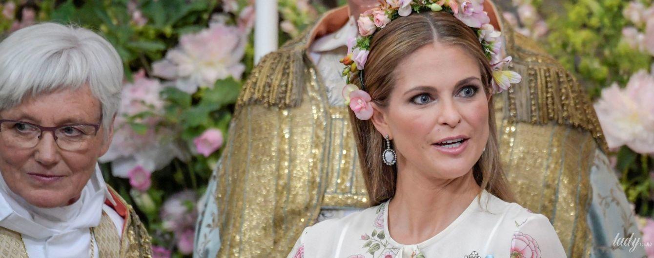 Как это было: в шведском королевстве состоялись крестины принцессы Адриенн