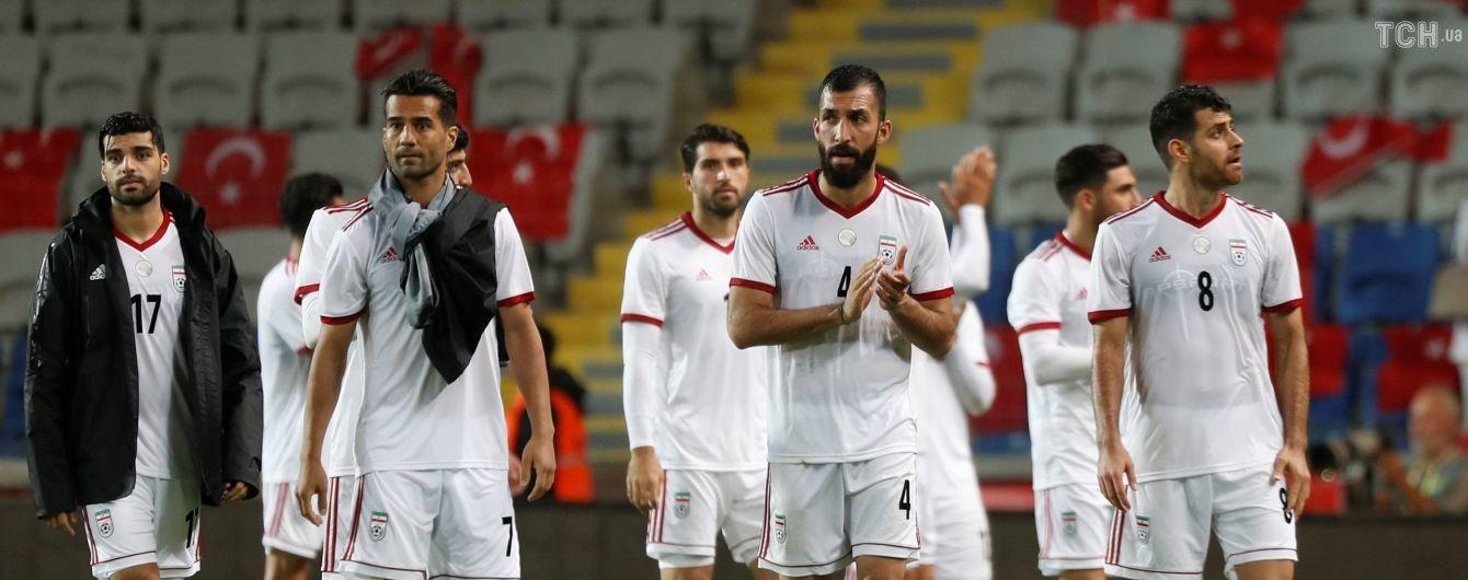 Збірна Ірану з футболу залишилася без бутсів перед ЧС-2018 через санкції США