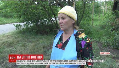 Боевики снова обстреляли жилые дома на востоке страны