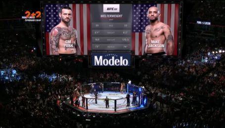 UFC 225. СМ Панк - Майк Джейсон. видео боя