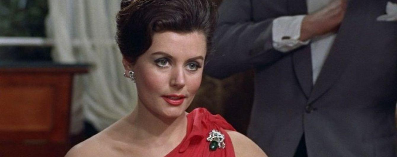 Умерла первая спутница агента 007