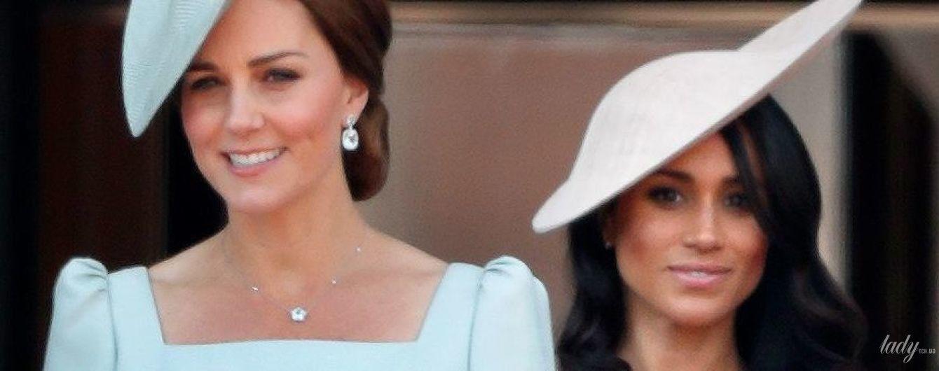 Битва образов: герцогиня Кембриджская vs герцогиня Сассекская на празднике королевы Елизаветы II