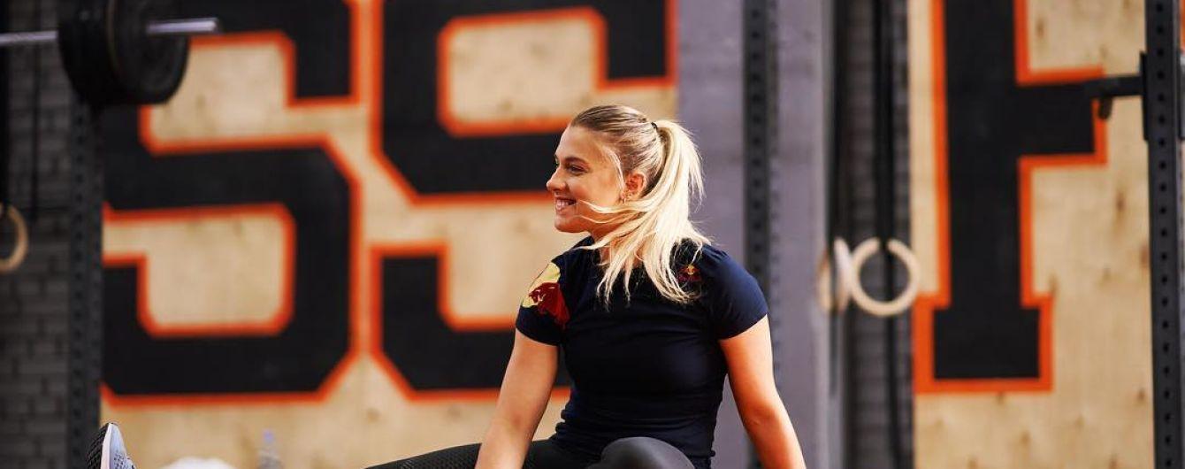 Українська фехтувальниця-чемпіонка Харлан якісно спародіювала Ломаченка під час тренування
