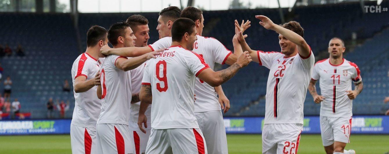 Футболісти збірної Сербії створили магічний гол, який можна дивитися вічно