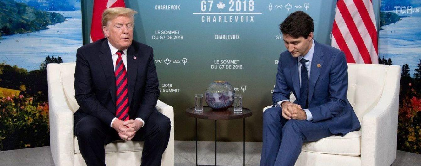 Для таких в пеклі є особливе місце: у Білому домі обурені поведінкою Трюдо на саміті G7