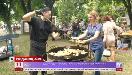 У Полтаві вперше провели Міжнародний фестиваль галушок