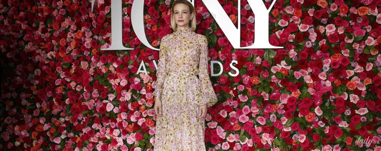 В романтичном наряде с цветочным принтом: Кэри Маллиган на красной дорожке Tony Awards - 2018