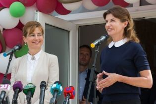 Битва образов первых леди: Марина Порошенко vs Анита Герцег