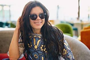 Руслана похвасталась стильной вышиванкой от украинского дизайнера