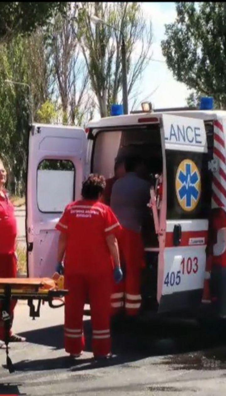 Один человек погиб в результате столкновения легковушки с маршруткой в Запорожье